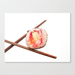 sushi roll Canvas Print