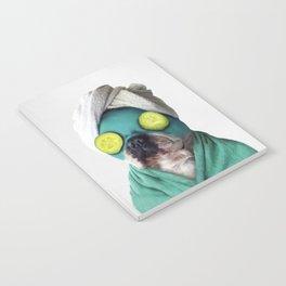 Dog SPA Art Print Notebook
