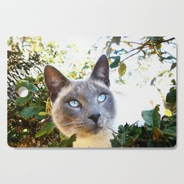Siamese Cat in Tree Cutting Board