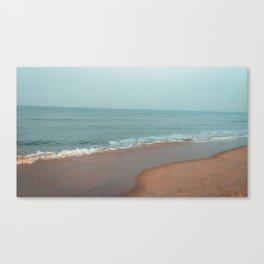 Shades of beach Canvas Print