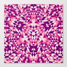 Triangle mandala 1 Canvas Print