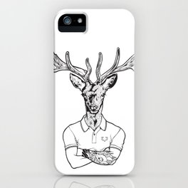 bambi's a grown up now  Black iPhone Case