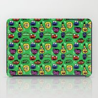 sesame street iPad Cases featuring Sesame Street Pattern by MOONGUTS (Kyle Coughlin)