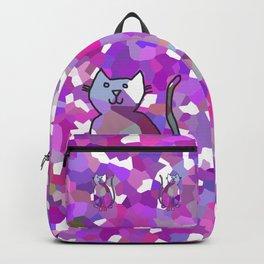 Crystal Cat - Lavender Backpack