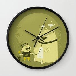 Meet Momo Wall Clock