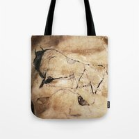 picasso Tote Bags featuring Before Picasso by anipani