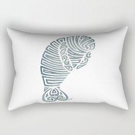 Tribal Manatee Rectangular Pillow
