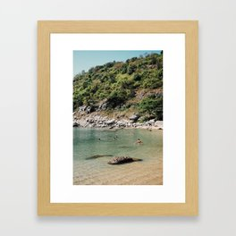 From Nui Beach - Thailand Framed Art Print