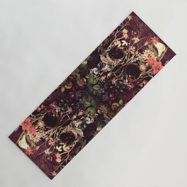 Bloom Skull Yoga Mat