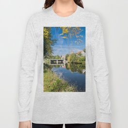 Danube reflection Long Sleeve T-shirt