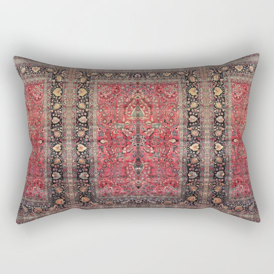 Antique Persian Red Rug by falln