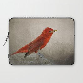 Song of the Summer Tanager 2 - Birds Laptop Sleeve