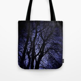 Barren Tree Branches Tote Bag