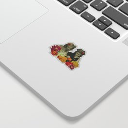 Flower Collectors Sticker