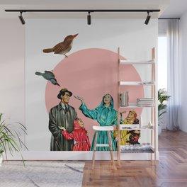 happy family Wall Mural