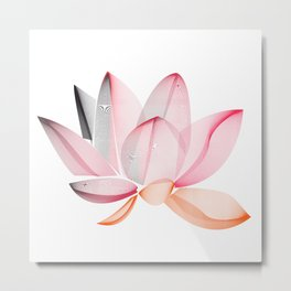 Lotus national Vietnam Metal Print