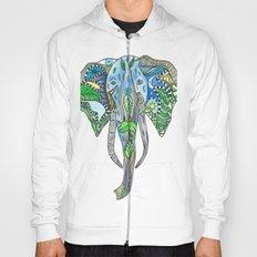 Tatoo Elephant Hoody