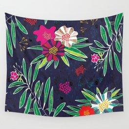 Neo Rainforest-Twillight Wall Tapestry