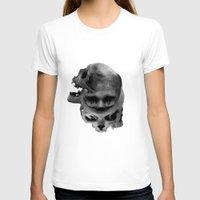 skulls T-shirts featuring Skulls by TattoosandartbyJared