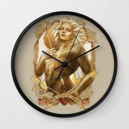 Amor Vincit Omnia Wall Clock