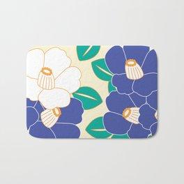 Shades of Tsubaki - Lavender & White Bath Mat