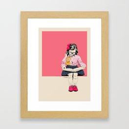 GoodGirl Framed Art Print