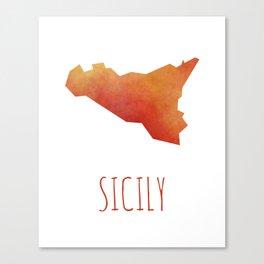 Sicily Canvas Print