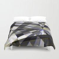 planes Duvet Covers featuring Merged planes by Another Coat