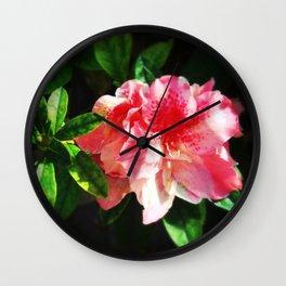 Azaléia II by Louise Machado & Zandonai Wall Clock