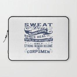Corpsman Woman Laptop Sleeve