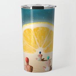 Desert Moonlight Meditation Travel Mug