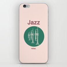Jazz Relax iPhone & iPod Skin