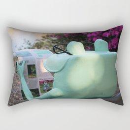 Frog News Rectangular Pillow