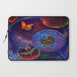 Sheikh Lutfollah Mosque Flower Laptop Sleeve