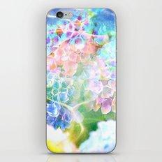 Hydrangeas in Water iPhone Skin