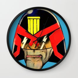 head, dredd Wall Clock