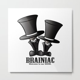 Brainiac Metal Print