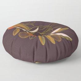 Olive branch Floor Pillow