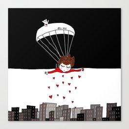 Flying Monday Canvas Print