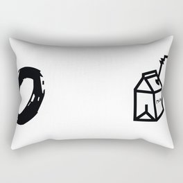 """Milk"" XOX Rectangular Pillow"