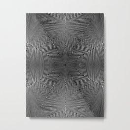 optical no.1 Metal Print