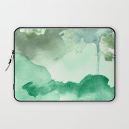 Meadow Pool Abstract Laptop Sleeve