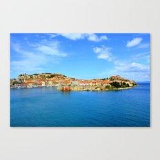 Elba Island, Portoferraio Canvas Print