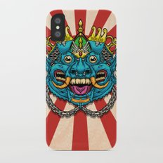 Justice Barong Mask iPhone X Slim Case