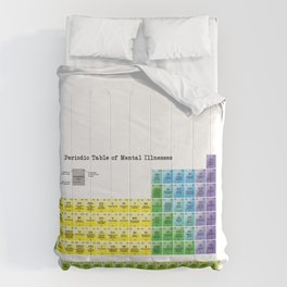 The Periodic Table of Mental Illnesses Comforters
