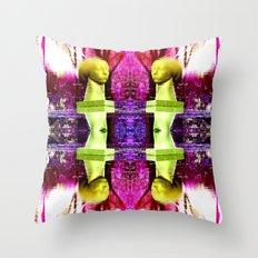 Heady Kaleidoscope Throw Pillow