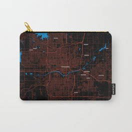 FanMap   NBA Oklahoma City #04 Carry-All Pouch