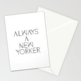 Always a New Yorker Stationery Cards