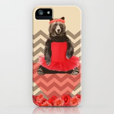 the bear who wanted to become a dancer Slim Case iPhone SE