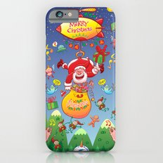 Santa has a Zeppelin to Deliver Christmas Gifts iPhone 6s Slim Case